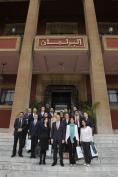 نائب رئيس مجلس النواب المغربي يستقبل مجموعة القادة الشباب من أوربا وأمريكا