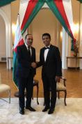 فخامة رئيس جمهورية مدغشقر يستقبل السيد الحبيب المالكي رئيس مجلس النواب مبعوثا لصاحب الجلالة الملك محمد السادس