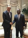 M. Habib El Malki s'entretient avec M. Cholzer Chancy