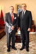 رئيس مجلس النواب يستقبل ممثل دولة كوبا في الاجتماع البرلماني حول الهجرة