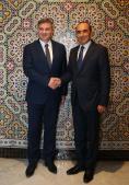 رئيس مجلس وزراء البوسنة والهرسك يؤكد للحبيب المالكي جودة العلاقات الثنائية مع المملكة المغربية.