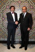 استقبل السيد الحبيب المالكي، رئيس مجلس النواب، يومه الخميس 07 مارس 2019 بمقر المجلس، السيد Elio Di Rupo الوزير الأول السابق ببلجيكا
