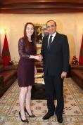 رئيس مجلس النواب يتباحث مع رئيسة الاتحاد البرلماني الدولي