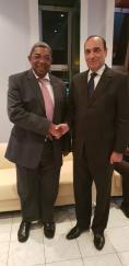 رئيس مجلس النواب يتباحث مع نظيره بجمهورية مدغشقر