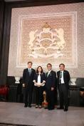 النائبة السيدة ابتسام عزاوي تستقبل الوزير المكلف بقطاع التنمية المستدامة بحكومة اليابان